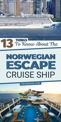 Things to know about the Norwegian Escape cruise ship operated by Norwegian Cruise Line. Covering dry docks, features and fun experiences. Top Cruise, Packing For A Cruise, Best Cruise, Cruise Port, Cruise Tips, Cruise Travel, Cruise Vacation, Hawaii Travel, Vacations
