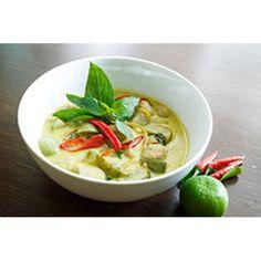 Curry verde con pollo