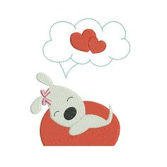 Instant download valentines day heart dog embroidery design machine by BrodonsetScrappons on Etsy https://www.etsy.com/listing/176839376/instant-download-valentines-day-heart