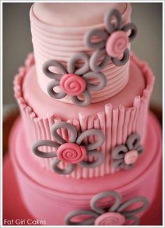 Pinterest/Resultados de la búsqueda para pink wedding cake