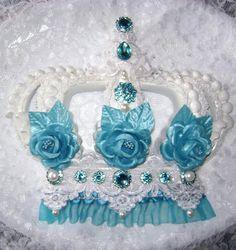 Tiffany Blue Wall Crown