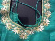 Best Blouse Designs, Saree Blouse Designs, Blouse Patterns, Embroidery Neck Designs, Blouse Models, Work Blouse, Fashion Sketches, Wedding Blouses, Indian Blouse