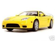 diecastmodelswholesale - Acura NSX Yellow 1/18 Diecast Model Car by Motormax, $31.99 (http://www.diecastmodelswholesale.com/acura-nsx-yellow-1-18-diecast-model-car-by-motormax/)