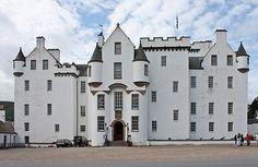 Blair Castle, Blair Atholl, Perthshire, Scotland - www.castlesandmanorhouses.com