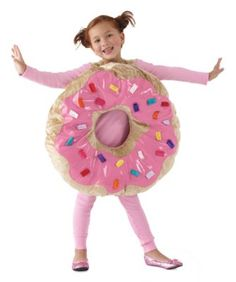 "sprinkle donut costume - you'll have a ""hole"" lot of fun in this whimsical costume. Candy Costumes, Halloween Costumes For Girls, Halloween Dress, Holidays Halloween, Cool Costumes, Halloween Kids, Costume Ideas, Hallowen Party, Minion Halloween"