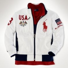Getting some Olympic spirit with Polo? Street Casual Men, Polo Jackets, Camisa Polo, Sharp Dressed Man, Zip Hoodie, Swagg, Sport Outfits, Polo Ralph Lauren, Menswear