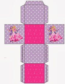 Box Barbie imprimir gratis