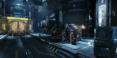 Photo by Dont Griffith Sci Fi Environment, Environment Design, Sci Fi News, Cool Websites, Spaceship, Game Art, Colonial, Design Inspiration, Military