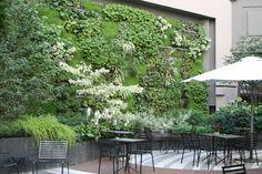 Hôtel Novotel Les Halles Terrace in Paris by Christian Fournet, Paysagiste