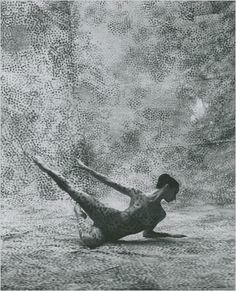 """Summerspace"" 1950  Choreographed by Merce Cunningham.  Set Design by Robert Rauschenberg"