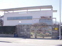 Villa di Terragni a Seveso International Style Architecture, Modern Architecture, Villa, Exterior, Interior Design, Outdoor Decor, Inspiration, Home Decor, Rationalism