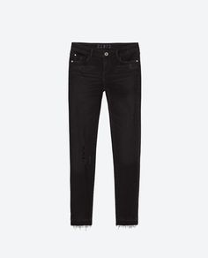 CROPPED MID-RISE JEANS-Jeans-Woman-COLLECTION SS16 | ZARA United States