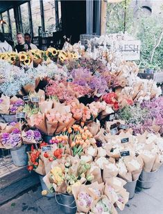 colorful floral arrangement flowers brown paper rainbow bright flowers gardening plants red orange y Bright Flowers, My Flower, Beautiful Flowers, Green Flowers, Floral Flowers, Happy Flowers, Cactus Flower, Exotic Flowers, Style Me Pretty Living