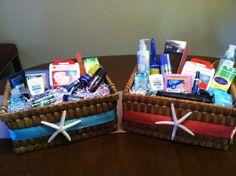 Wedding Bathroom Baskets by AngelfishWeddings on Etsy, $60.00