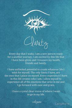 Affirmation - Clarity