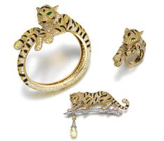 Animal Magic: Cartier Tigers