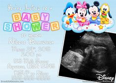 Best Disney Baby Shower Invitations Templates