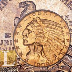 1909-O Indian half eagle PCGS MS62