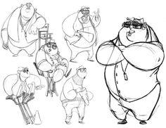Dan Seddon - Masters of Anatomy Comic Character, Character Concept, Concept Art, Art Of Dan, Animation Tutorial, Cartoon Characters, Cartoon Bodies, Character Illustration, Illustration Art
