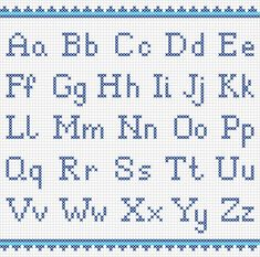 Illustration about Vector set of cross-stitched letters. Illustration of embroidered, alphabet, cross - 47863577 Cross Stitch Alphabet Patterns, Embroidery Alphabet, Cross Stitch Letters, Cross Stitch Designs, Stitch Patterns, Crochet Alphabet, Cross Stitch Font, Alphabet Charts, Font Alphabet