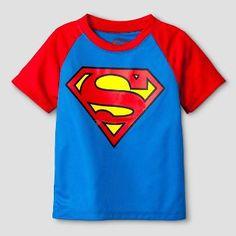 Baby Boys' Superman® Short Sleeve T-Shirt - Black