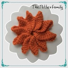 How to Crochet a Flower Pattern #50  │by ThePatterfamily