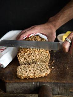 Seeded Irish Brown Bread – WILD GREENS & SARDINES