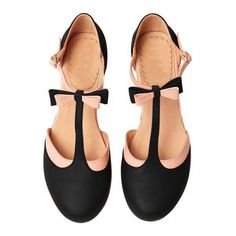 T-Strap Bowknot Summer Casual Chunky Heel Buckle Womens Sandals Ankle Strap Sandals, Strap Heels, Strappy Sandals, Black Sandals, Wedge Sandals, Shoes Sandals, Shoes Sneakers, Flats, Outfit Trends
