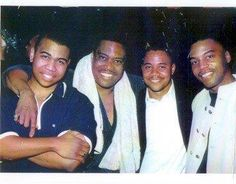 Cuba Gooding Sr with Cuba Jr, Omar and Thomas. Black Fathers, Fathers Love, Father And Son, Mom And Dad, Cute Family, Family First, Beautiful Family, Celebrity Couples, Celebrity Pictures