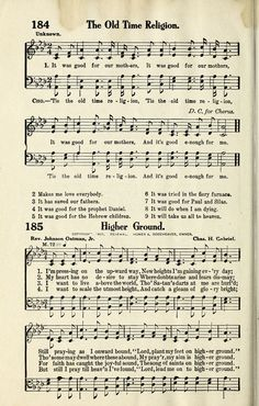 OLD TIME RELIGION - Hymnary.org