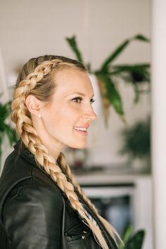 Dutch Braid Tutorial – A Beautiful Mess