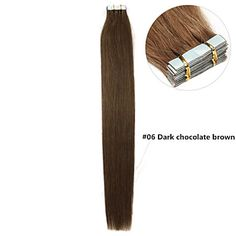 grado 5a 2set / lot 16inch / 40cm multicolori nastro dritto nelle estensioni dei capelli capelli umani tesse 20s / 1.5g set / s – EUR € 1.19
