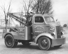 Time Capsule: Circa 1950s Tow Truck - Work Truck