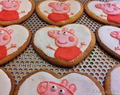 Biscotti Peppa Pig - Peppa Pig Cookies - Peppa Pig Birthday Party favors