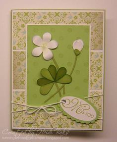 SUOC65 Going Green! by hlw966 - Cards and Paper Crafts at Splitcoaststampers