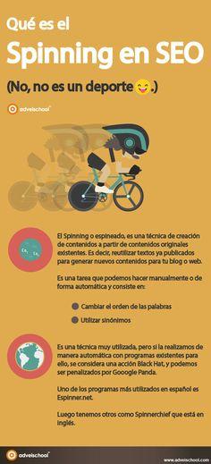 Hola: Una infografía sobreQué es el Spinning en SEO. Vía Un saludo