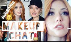 Makeup Tips and Tricks with Katherine McNamara -  	  just a fun little chat video Special thanks to the black chalk magazine   Video credits to Kseniya Durst YouTube channel