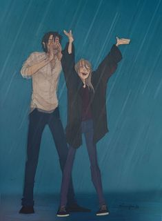 Find images and videos about love, art and couple on We Heart It - the app to get lost in what you love. Anime Couples, Cute Couples, Dibujos Percy Jackson, Drawing Sketches, Art Drawings, Drawing Rain, Character Inspiration, Character Art, Writing Inspiration
