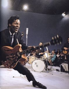 Chuck Berry was actually far better than Elvis imho but alas...