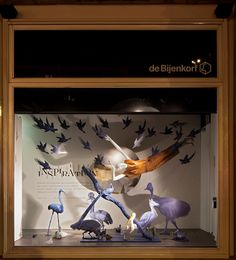 De Bijenkorf x Rijksmuseum windows by StudioXAG Netherlands Shop | Store | Retail | Window | Display | Visual Merchandising