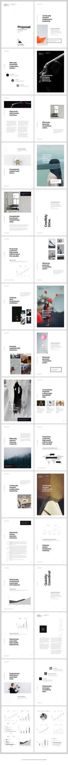 A4 Keynote Presentation for Print by GoaShape on @creativemarket: