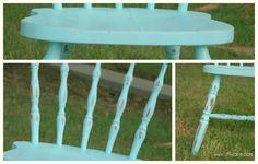 distress vintage furniture spray paint sander lollyjane.com