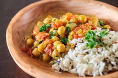 Indian Chickpea Dal with Coconut Broth