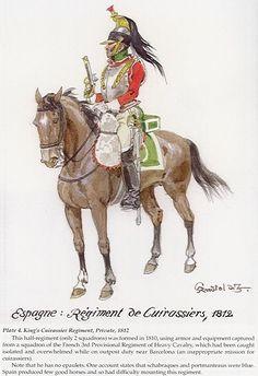 Coraceros 1812 Espanien