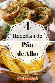 Surpreenda-se com todo o sabor desses 4 tipos de pão de alho!