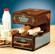 Electric S'Mores Maker, $49.95.