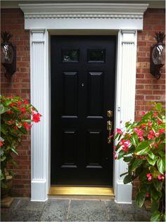 front door trim images | provia-front-door-and-fypon-trim-replacement