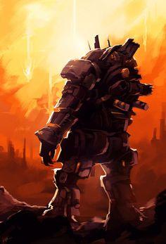Ogre artwork from TitanFall