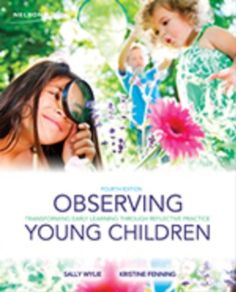 Observing young children: Transforming early learning through reflective practice. (2012). by Sally Wylie & Kristine Fenning.