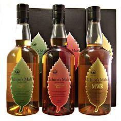 Ichiros Malt Japanese Whisky 3 bottles of vary rare old bottlings available buy online from specialist whisky shop whiskys.co.uk Stamford Bridge York